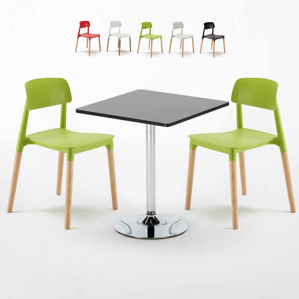 die 2 stühle und das tisch