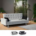 Schlafsofa Sofabett Couch Klappsofa 2-Sitzer Kunstleder AGATA - arredamento